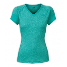Women's Reactor V-Neck S/S by The North Face in Naperville Il