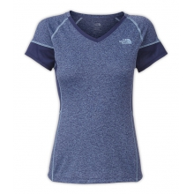 Women's Reactor V-Neck S/S by The North Face in Dayton Oh