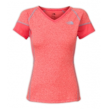Women's Reactor V-Neck S/S by The North Face in Ames Ia