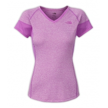Women's Reactor V-Neck S/S by The North Face in Mansfield Ma