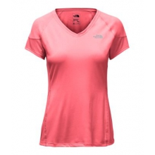 Women's Reactor V-Neck S/S by The North Face in Easton Pa