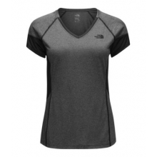 Women's Reactor V-Neck S/S by The North Face in Logan Ut