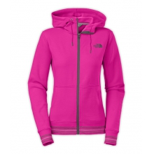 Women's Stretch Logo Full Zip Hoodie by The North Face