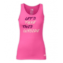 Women's Take This Outside Tank by The North Face in Okemos Mi