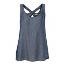 Women's Woven Breezeback Tank by The North Face in Knoxville Tn