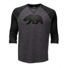 Men's 3/4 Sleeve Heritage Bear Cub Tee by The North Face in Tarzana Ca