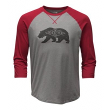 Men's 3/4 Sleeve Heritage Bear Cub Tee by The North Face in Cody Wy