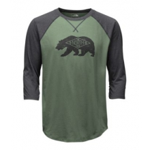 Men's 3/4 Sleeve Heritage Bear Cub Tee by The North Face in Columbus Ga
