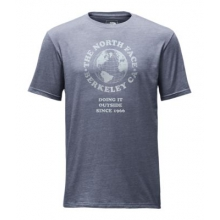 Men's S/S Globe Tri-Blend Tee by The North Face in Wakefield Ri