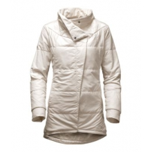 Women's Long Pseudio Jacket by The North Face in Grand Rapids Mi