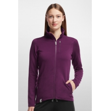 Women's Cascade LS Zip by Icebreaker in Golden Co