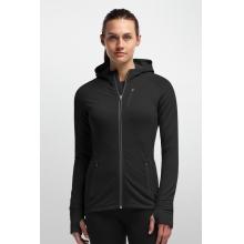 Women's Quantum LS Zip Hood by Icebreaker