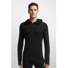 Men's Compass LS Half Zip Hood by Icebreaker in Kansas City Mo