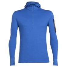 Men's Compass LS Half Zip Hood by Icebreaker in Grosse Pointe Mi