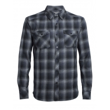 Men's Lodge LS Flannel Shirt by Icebreaker