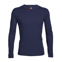 Men's Oasis LS Crewe by Icebreaker in Golden Co