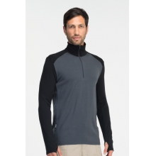 Men's Tech Top LS Half Zip by Icebreaker in Fort Worth Tx