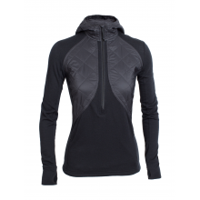 Women's Ellipse LS Half Zip Hood by Icebreaker in Glenwood Springs Co