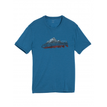 Men's Tech Lite SS Crewe Fin Peaks by Icebreaker in State College Pa