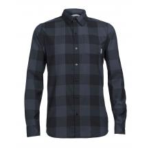 Men's Departure II LS Shirt Plaid by Icebreaker