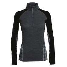 Women's Comet LS Half Zip Impulse by Icebreaker