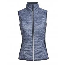 Women's Helix Vest Fraser Peaks by Icebreaker