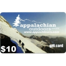 $10 Gift Card by Appalachian Outdoors
