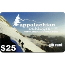 $25 Gift Card by Appalachian Outdoors
