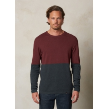 Color Block Sweater Crew by Prana in Red Deer Ab