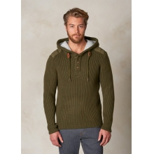 Hooded Henley Sweater by Prana