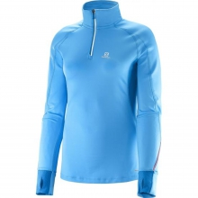 Trail Runner Warm S Zip Tee W by Salomon