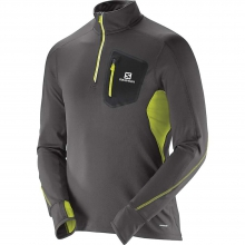 Trail Runner Warm S Zip Tee M
