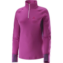 Trail Runner Warm S Zip Tee W