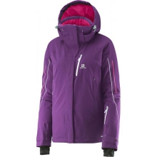 Iceglory Jacket W by Salomon in Meridian Id