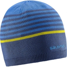 Stripe Reversible Beanie by Salomon