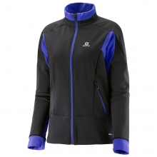 Momemtum Softshell Jacket W by Salomon in Medicine Hat Ab
