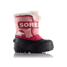 Snow Commander Waterproof Boot Little Kids', Coral Pink/Bright Rose, T5 in Iowa City, IA