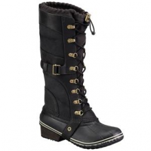 Conquest Carly Boot Women's, Camo/Brown, 10 by Sorel