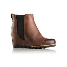 Womens Lea Wedge Boot Umber/Black 7 by Sorel