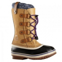 Joan of Arctic Knit Boot Girls', Curry, 1 by Sorel