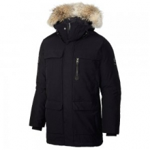 Caribou Parka Men's, Black, L by Sorel