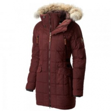 Conquest Carly Parka Women's, Elderberry, L by Sorel