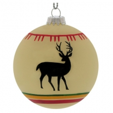 White Deer Blanket Ball Ornament in State College, PA