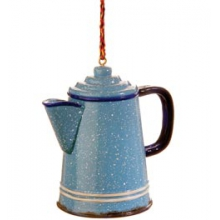 Granite Coffee Pot Ornament - Blue in State College, PA