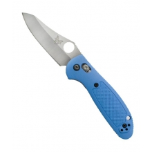 - Mini Griptillian Plain Edge Blue by Benchmade