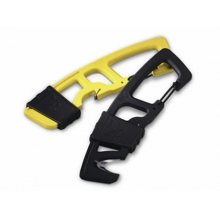 9CB-YEL Strap Cutter Carabineer Hook with Yellow Handle