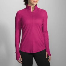 Women's Dash 1/2 Zip by Brooks Running in Spokane Valley WA