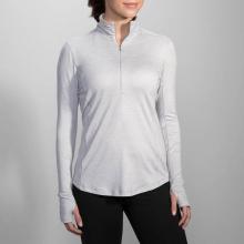 Women's Dash 1/2 Zip by Brooks Running in New York Ny