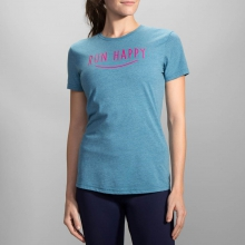 Run Happy Smile Tee by Brooks Running