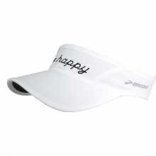 Run Happy Sherpa Visor by Brooks Running in West Palm Beach Fl